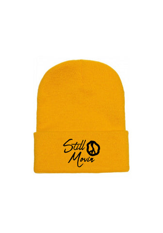 Still Movin Signature Beanie - Gold