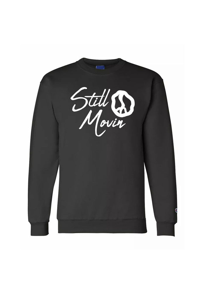 Still Movin x Champion Signature Crewneck - Black
