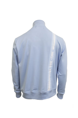 Trademark Track Jacket - Light Blue