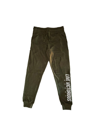 LV Sport Joggers - Olive
