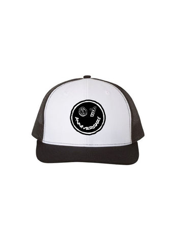 1 Year Anniversary Trucker Hat - Black/White