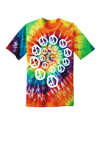 Still Movin Trippy T-Shirt - Tie Dye