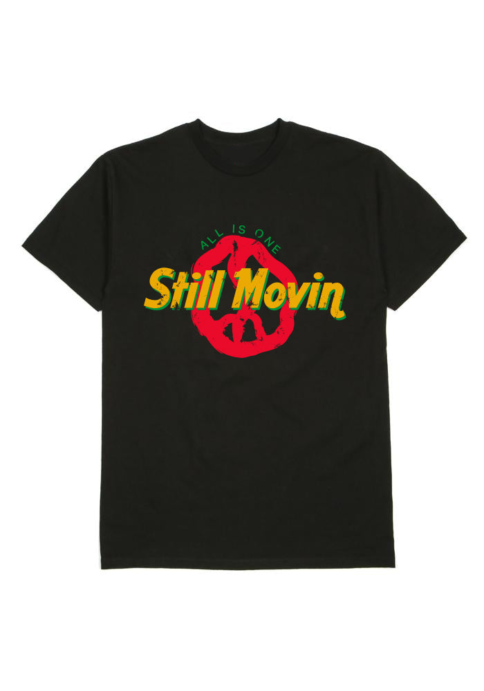 Still Movin All Is One Tee - Black