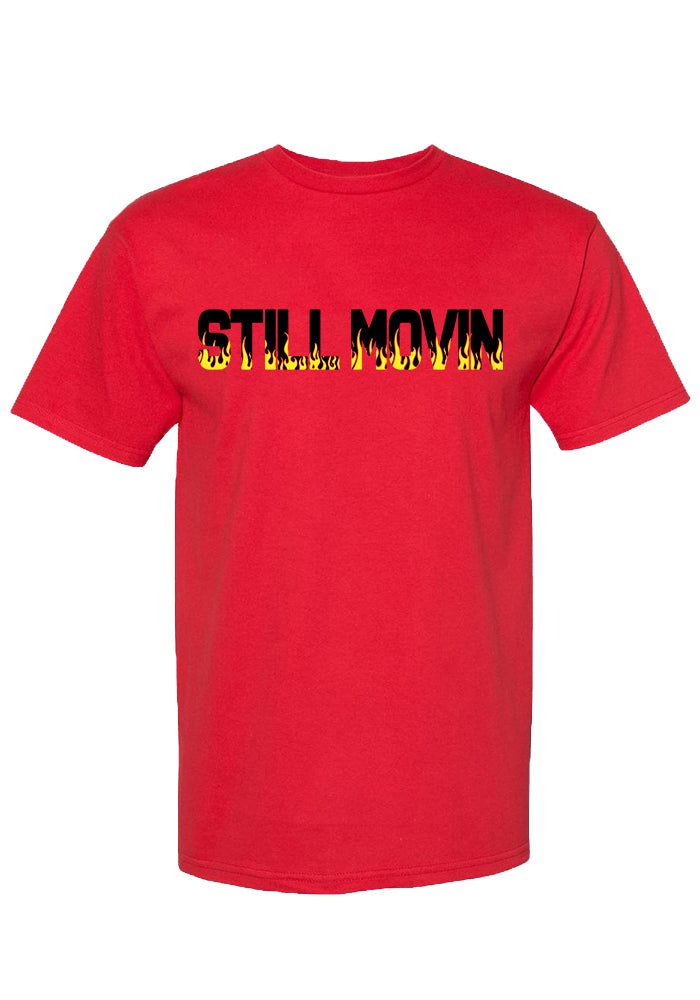 Still Movin Fuego T-Shirt - Red