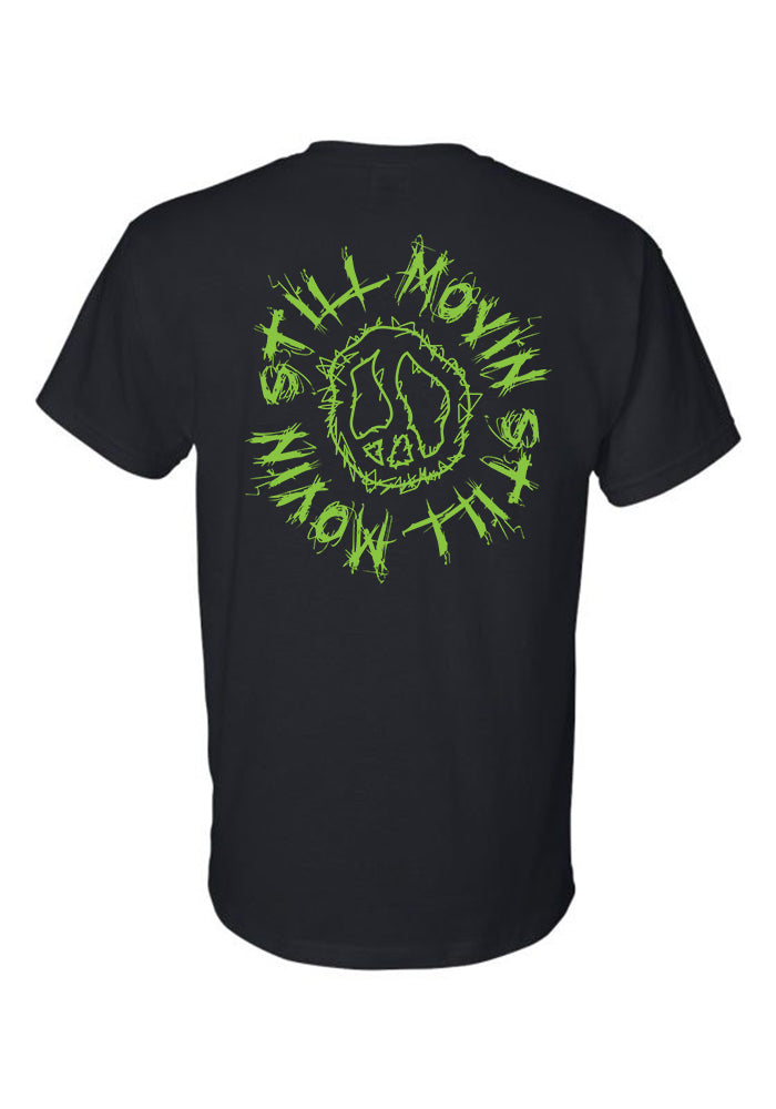 Still Movin Scribble T-Shirt - Black