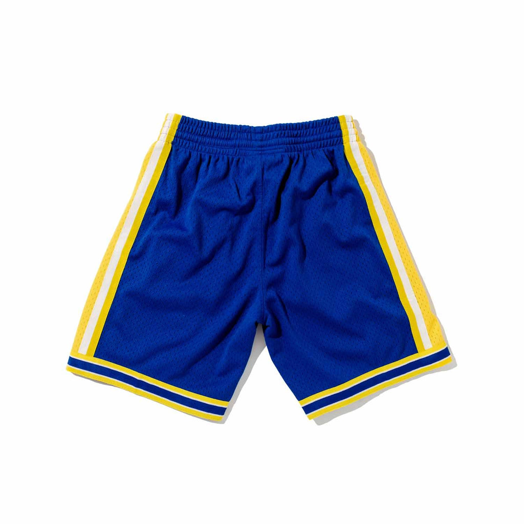 Golden State Warriors Swingman Shorts - Blue
