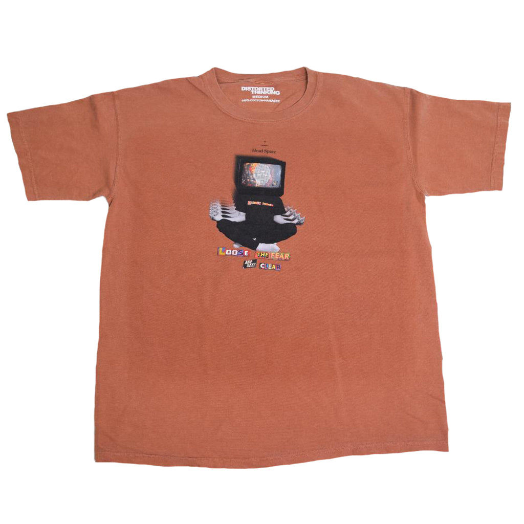 Headspace T-Shirt - Burnt Orange