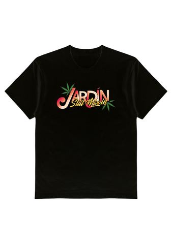 Jardín x Still Movin Logos T-Shirt - Black
