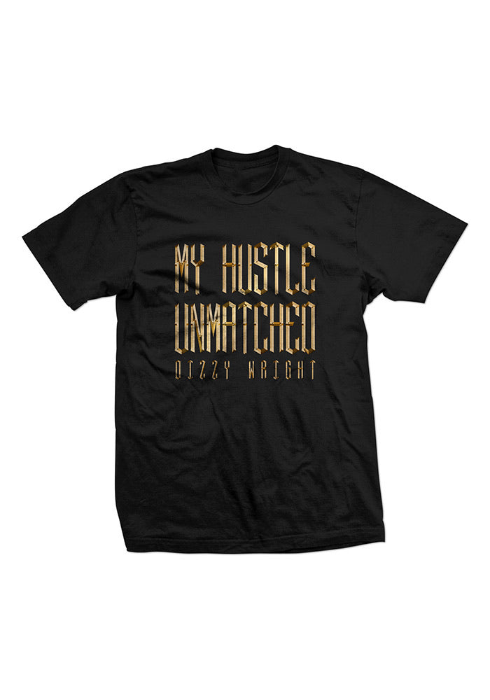 My Hustle Unmatched T-Shirt - Black