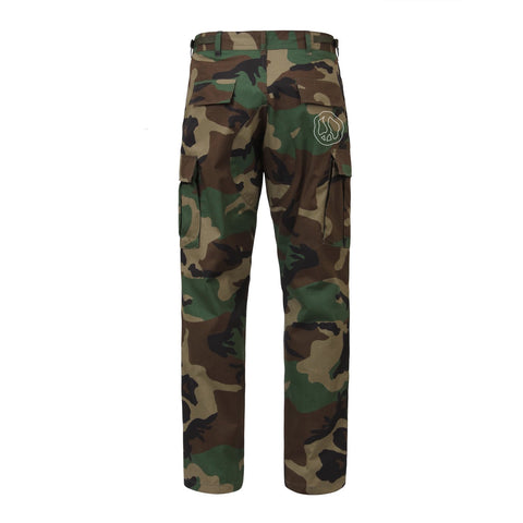 Still Movin Cargo Pants - Woodland Camo