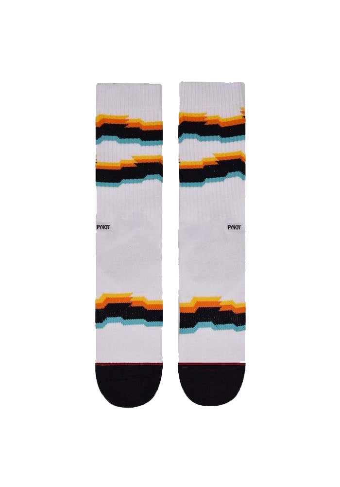 Glitch Socks - White