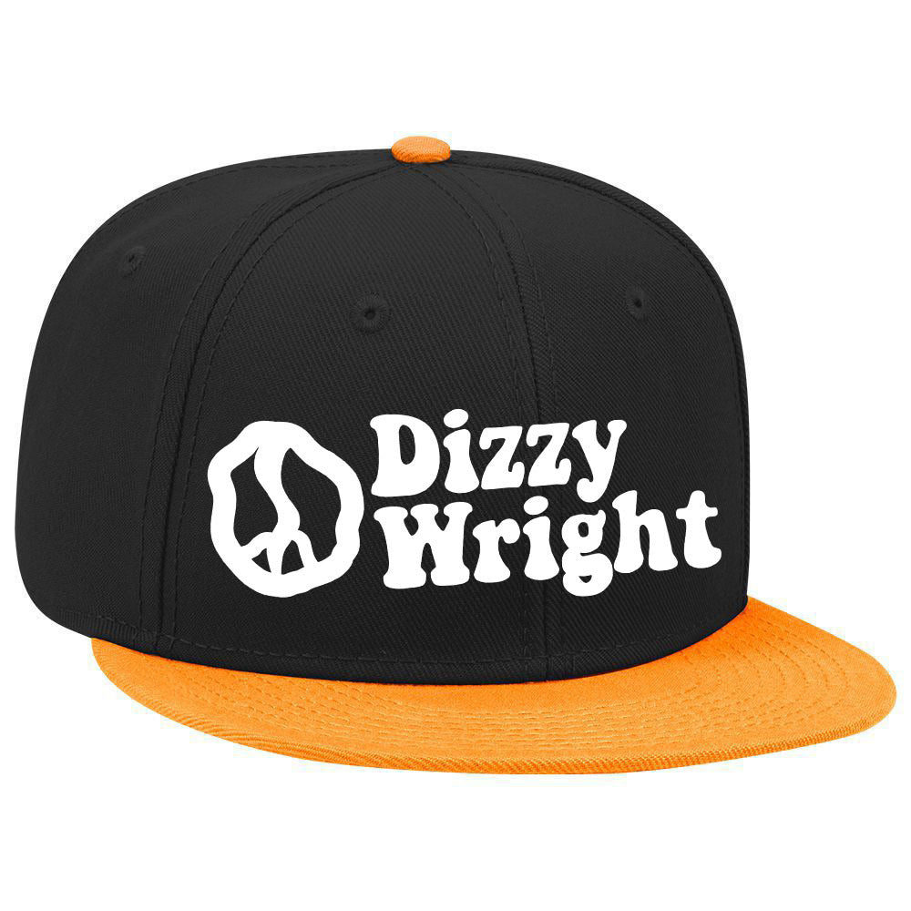 Dizzy Wright Snapback - Black/Orange