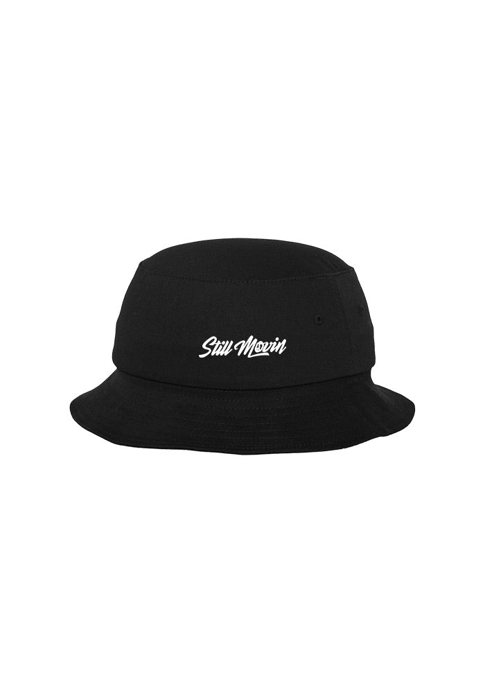 Still Movin Bucket Hat - Black