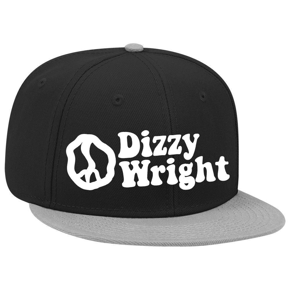 Dizzy Wright Snapback - Black/Grey