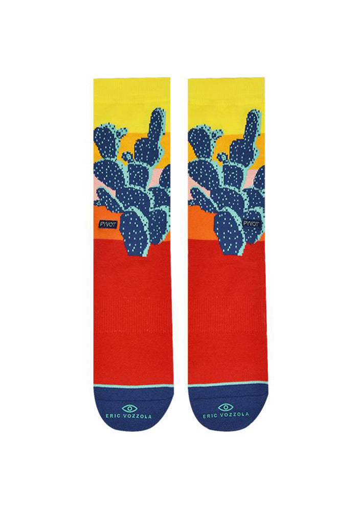 Santa Rita Socks - Red/Yellow