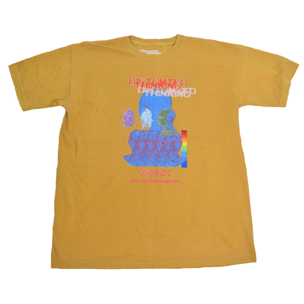 Intentions T-Shirt - Mustard