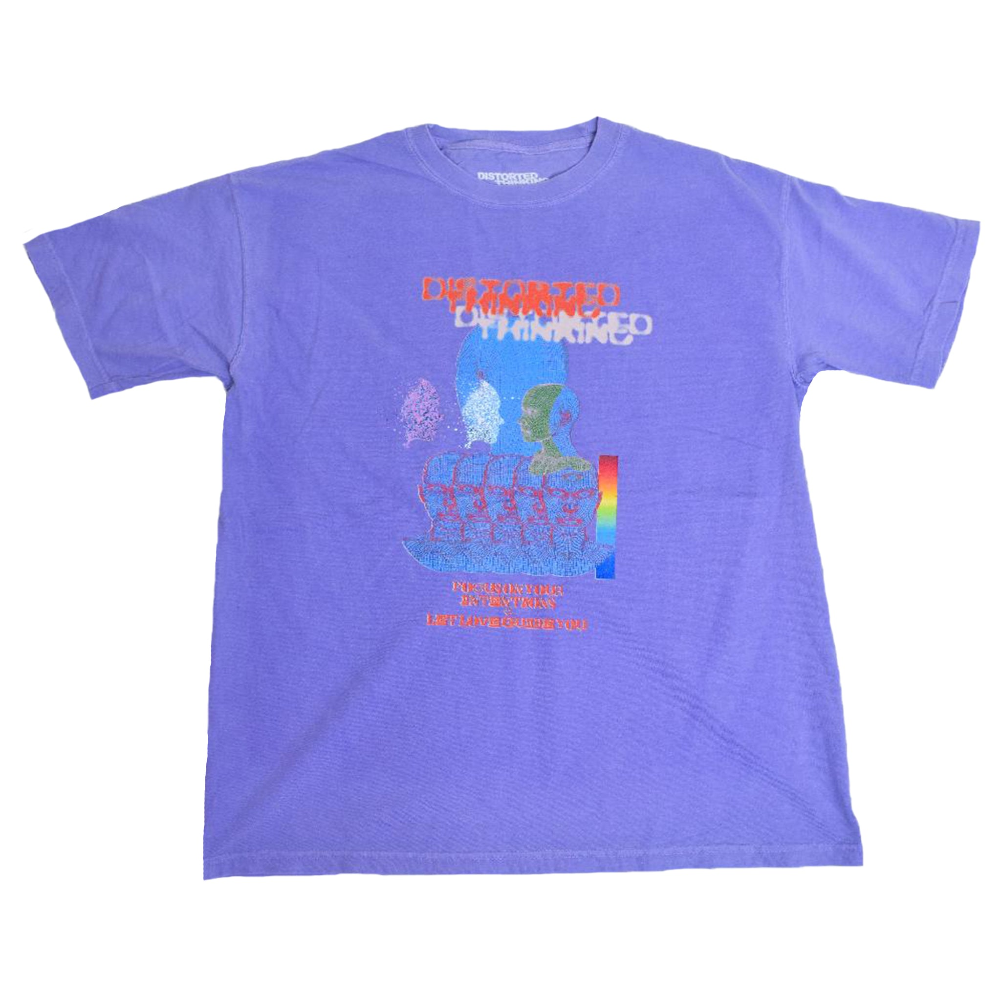 Intentions T-Shirt - Purple