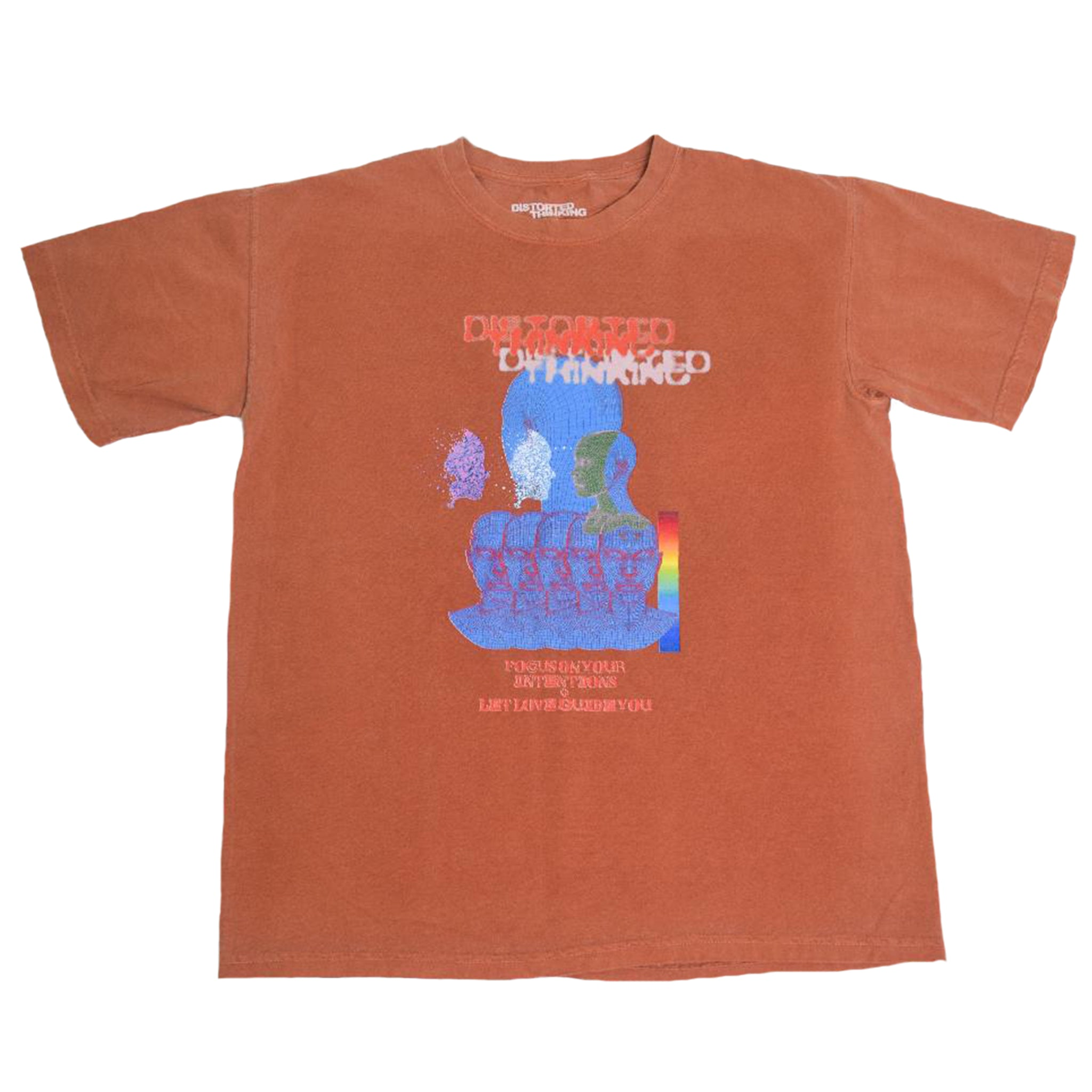 Intentions T-Shirt - Burnt Orange