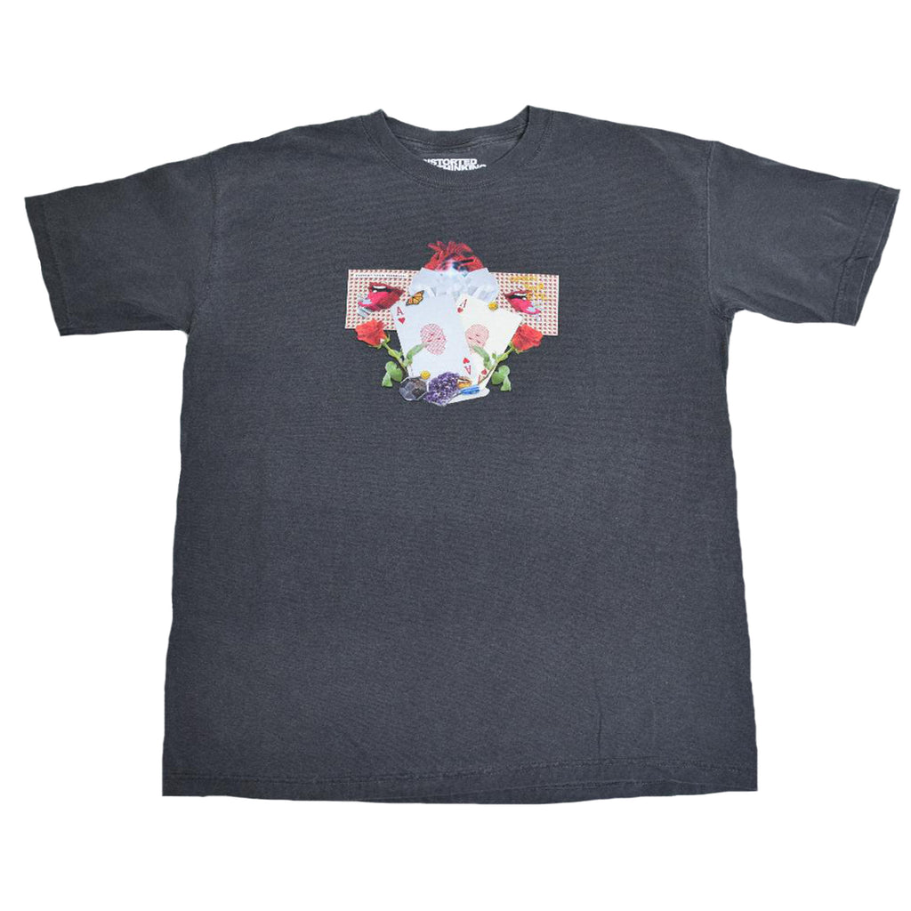 Abstract T-Shirt - Washed Black
