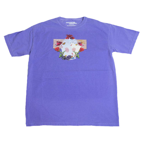Abstract T-Shirt - Purple