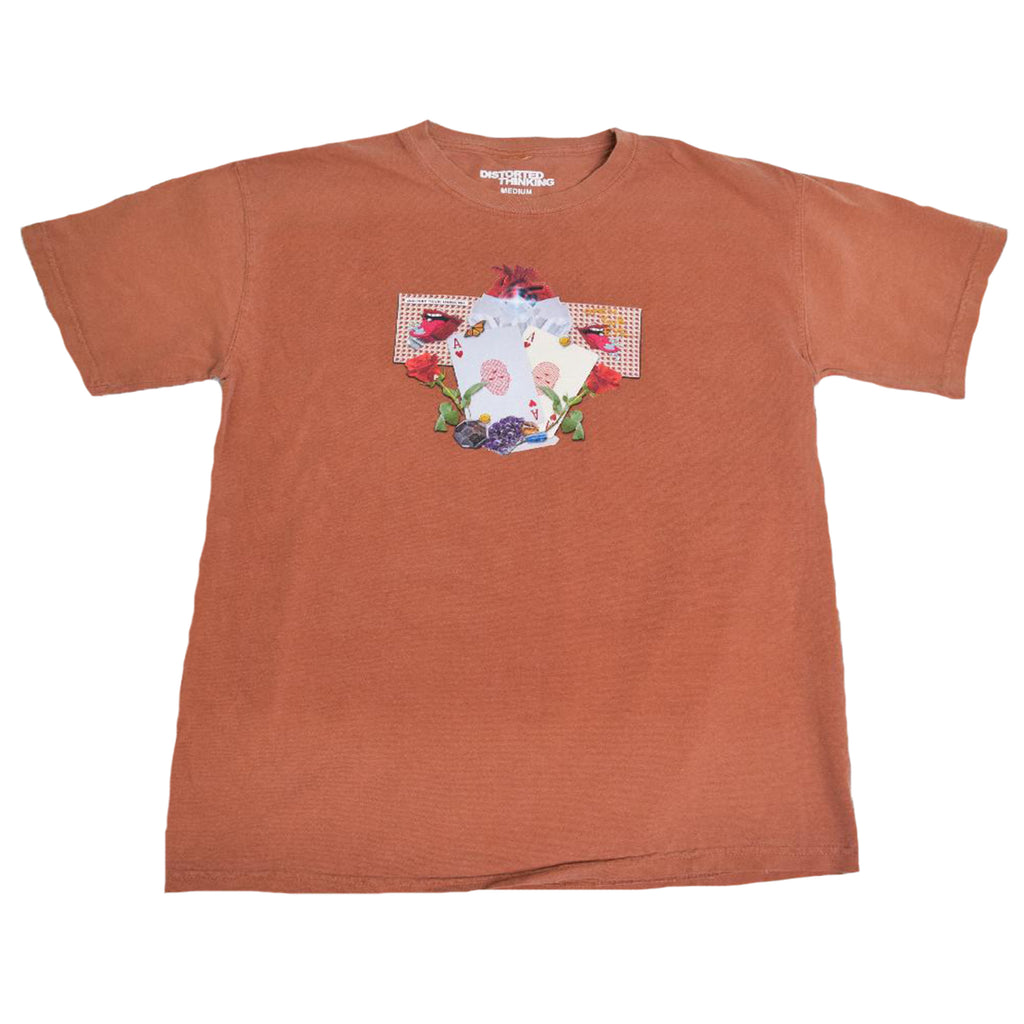 Abstract T-Shirt - Burnt Orange