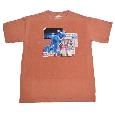 Question What You Know T-Shirt - Orange