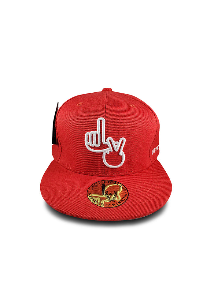 LV Snapback - Red