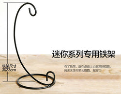 DIY玻璃小屋黑架 Black coated Iron Stand