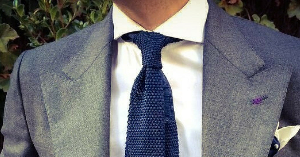 How to wear a knitted tie in 2017