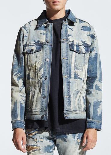 Norton Denim Jacket (Blue)
