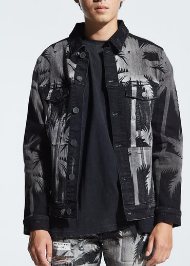 Norton Denim Jacket (Black)