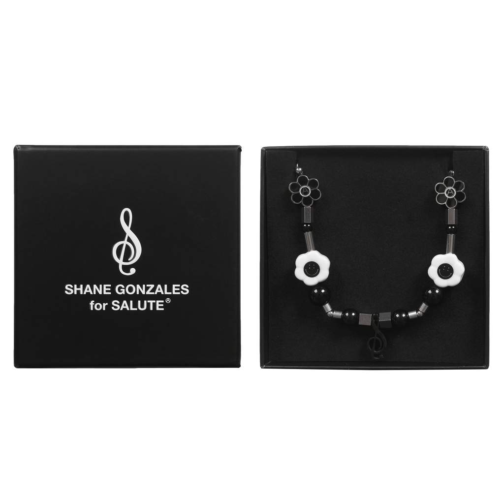 SALUTE X SHANE GONZALES MUSIC A NECKLACE (Midnight Studio)