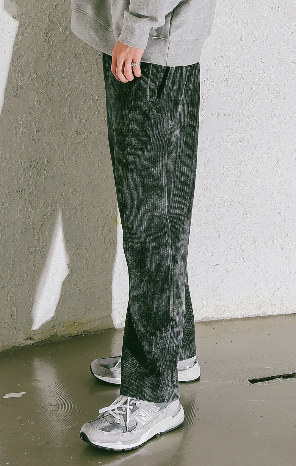 EFFECT TRACK PANTS (Black)