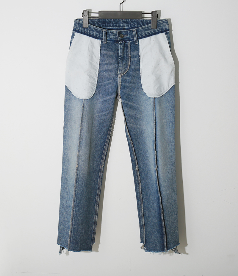 reversible denim