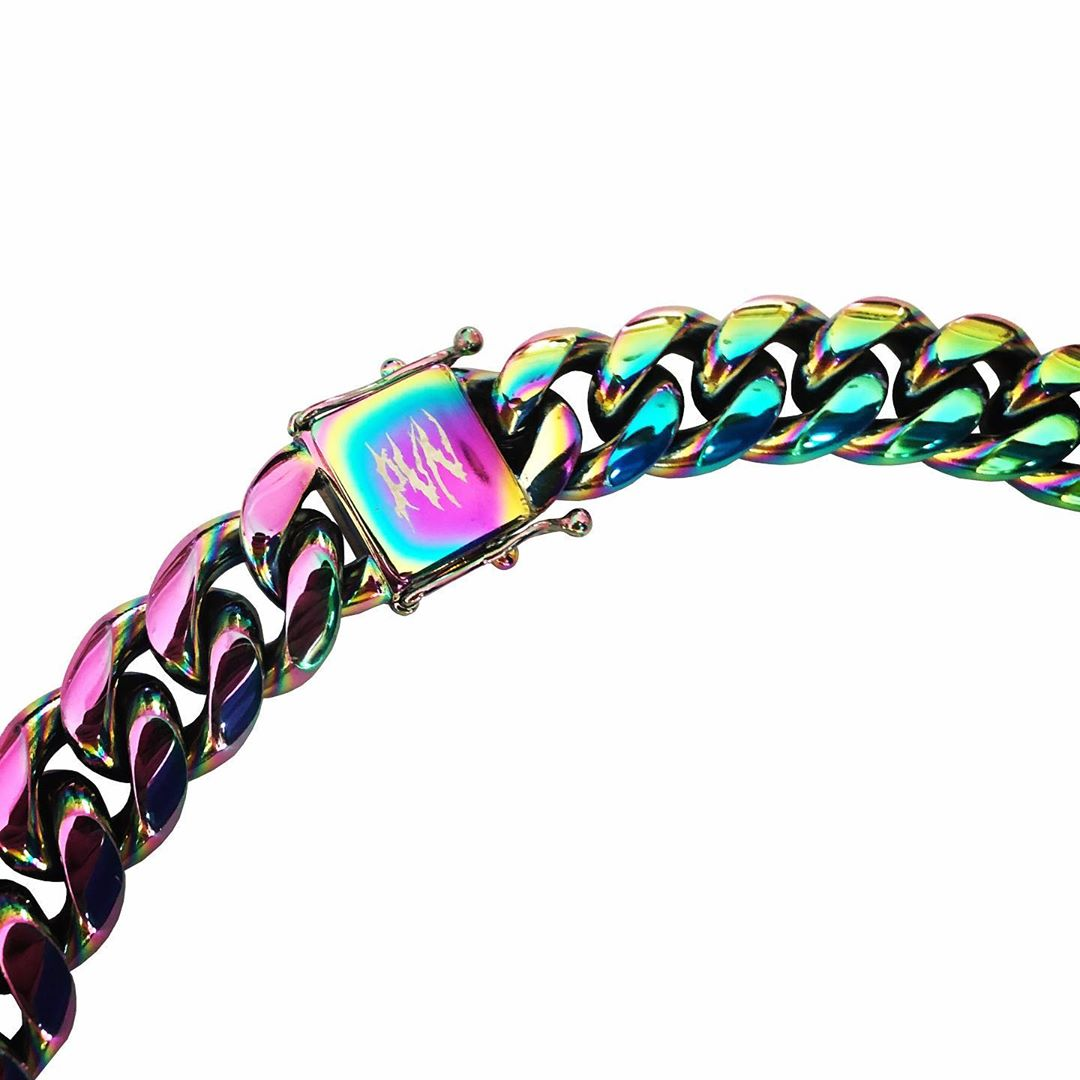 "Lurs x Pcc "" COLORFUL NECKLACE """