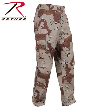 Color Camo Tactical BDU Pant : 6-Color Desert Camo
