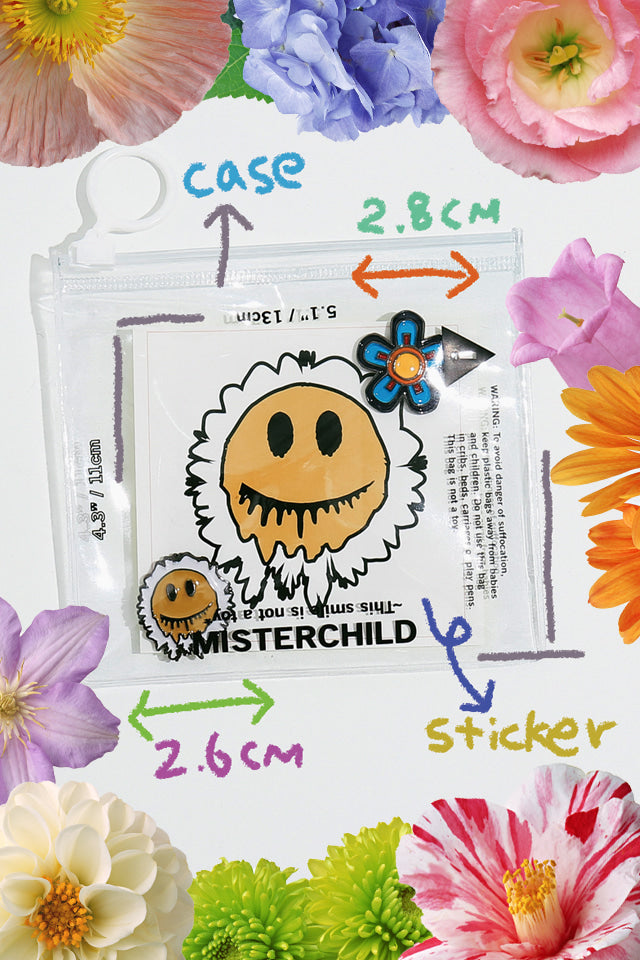 SMILE BADGE PIN