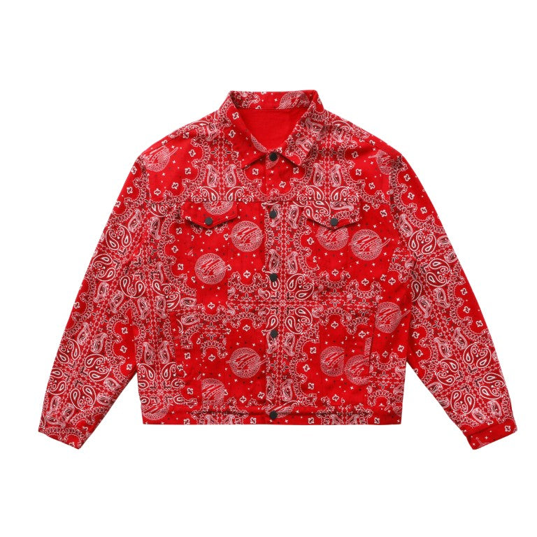 Cashew Flower Jacket (RED)