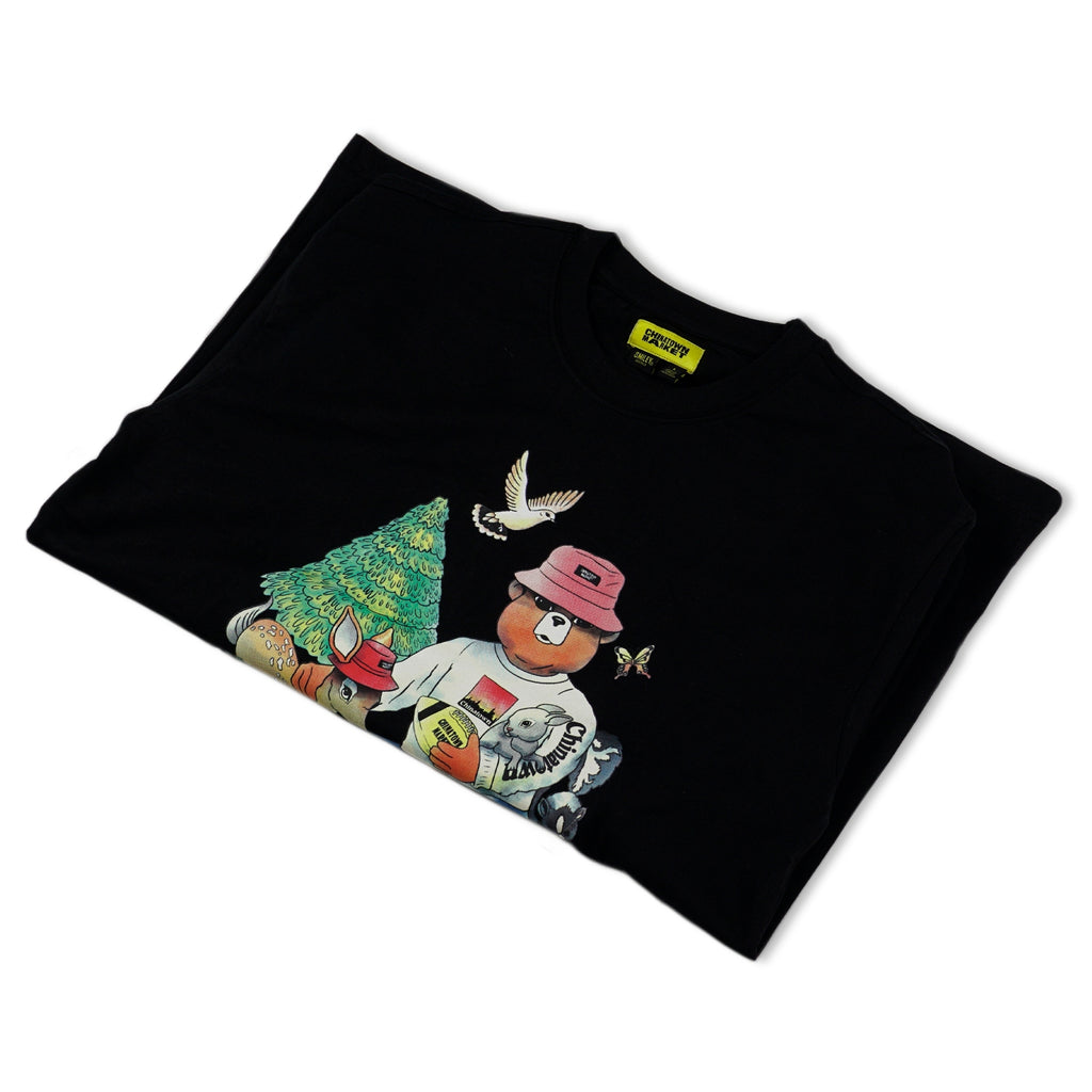 Smiley Friends T-SHIRT (Black)