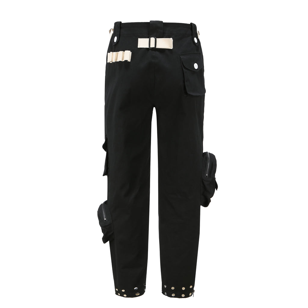 PCCVISION SLAVES EMBROIDERY PANTS