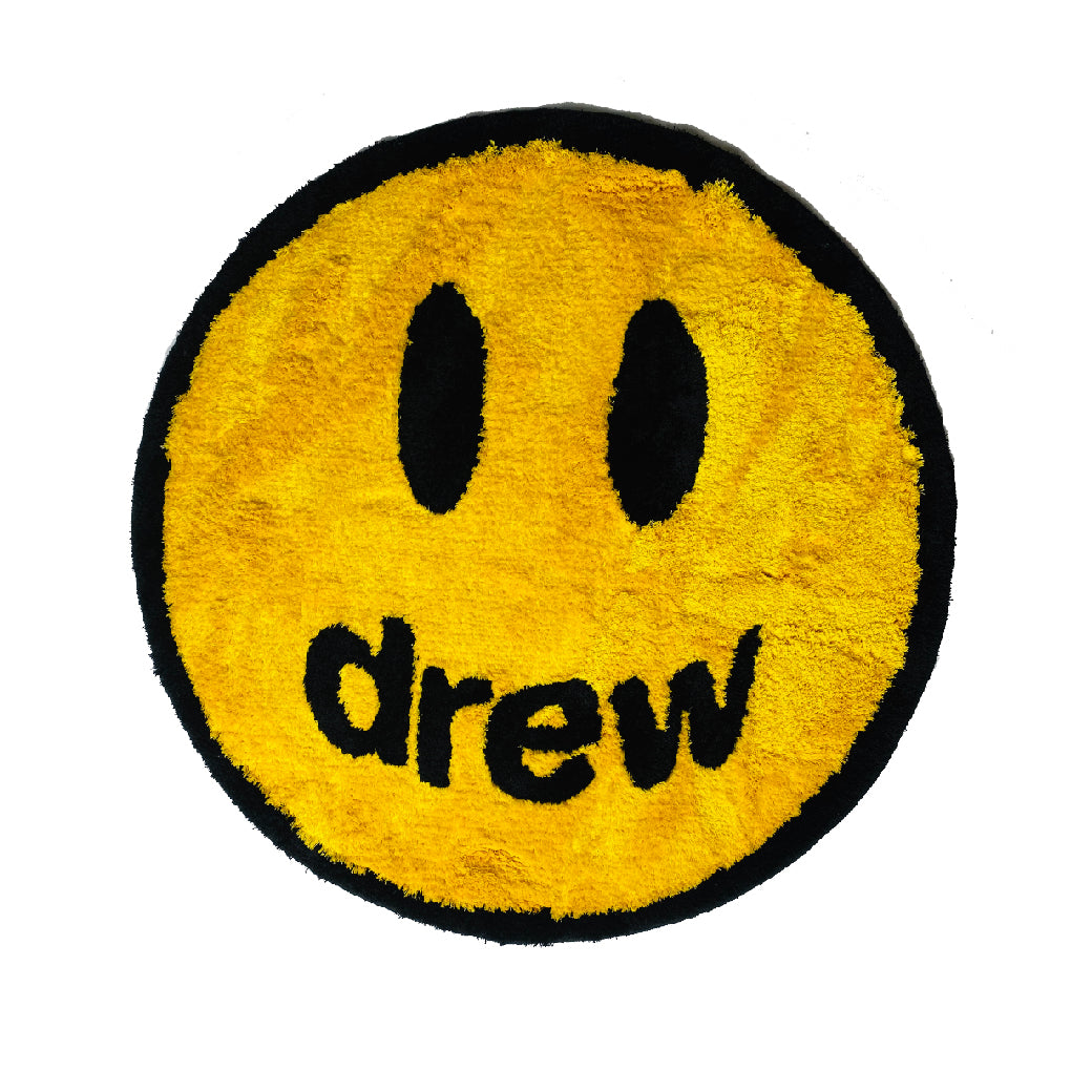 Drew House - Smiley Face Rug