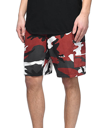Rothco Camo BDU Shorts : RED CAMO
