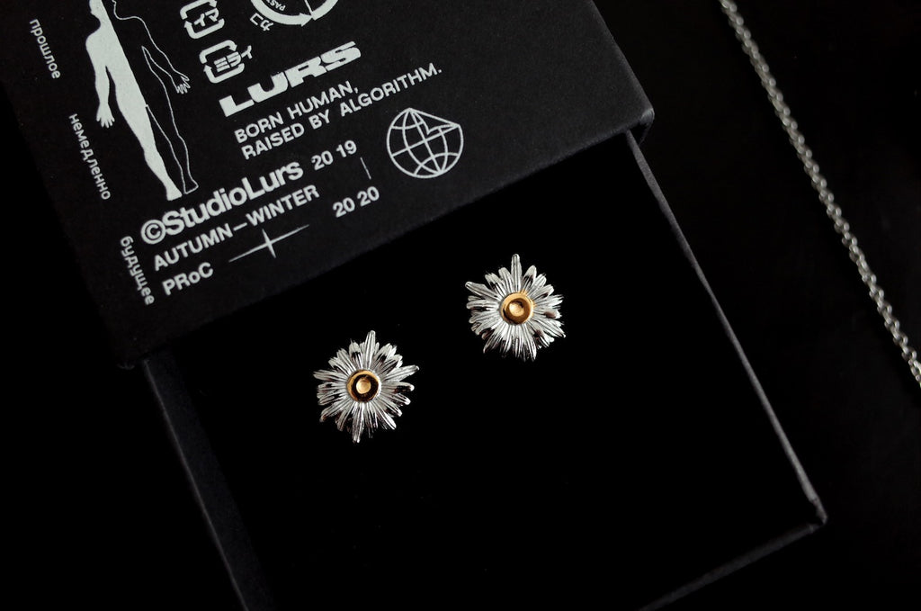 LURS Daisy Flower earring