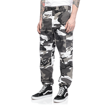 Color Camo Tactical BDU Pant : City Camo