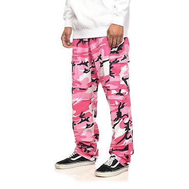 Color Camo Tactical BDU Pant : Pink Camo