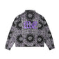 Cashew Flower Jacket (Black)