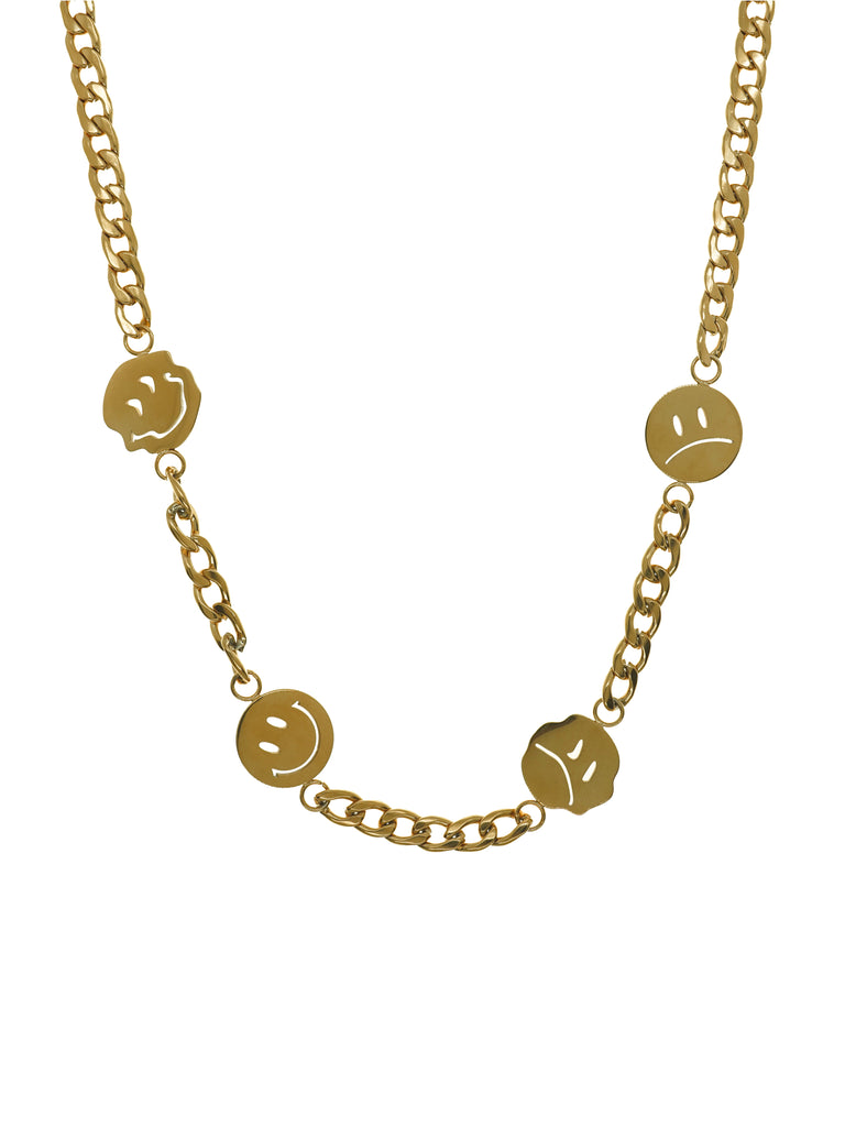 LURS : Emoji Necklace (Gold)