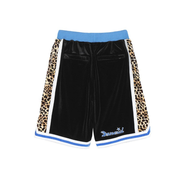 LEOPARD STITCHING 5POINT PANTS