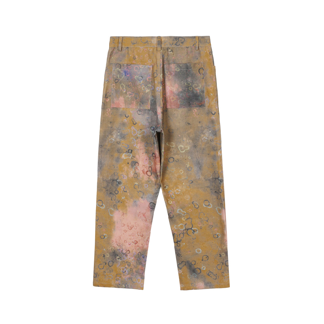 SALUTE 2020ss tie-dry cells pants