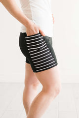 Black & White 5 inch 2.0 - Pocket Short - RESTOCKED